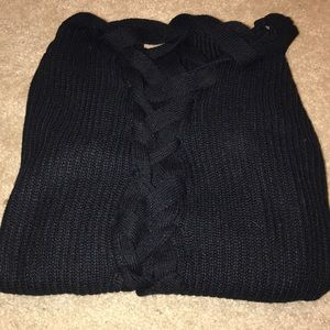 Women's Cardigan with Breaded back